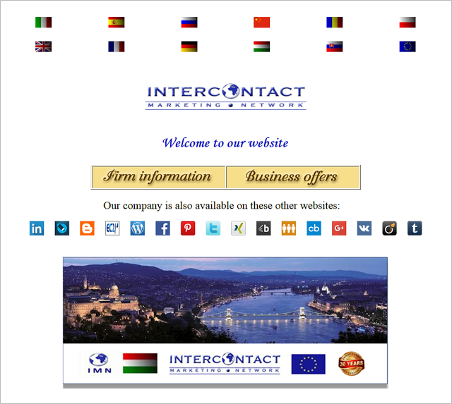 Intercontact - Actual Business Offers and Demands
